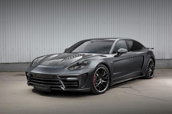 TopCar Creates Widebody Kit for Porsche Panamera Turbo