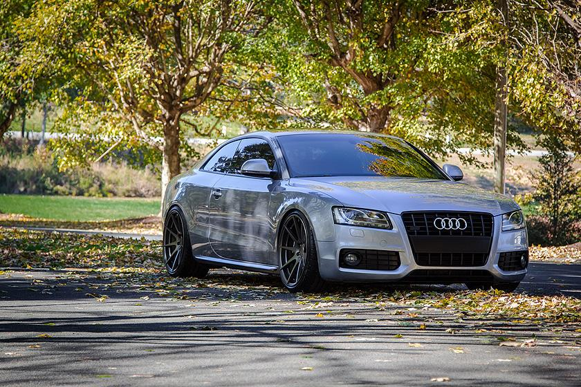 BC Forged wheels for Audi vehicles
