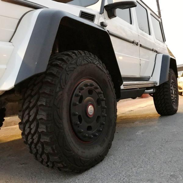 Mercedes Benz 6x6 wheels and 4x4 wheels for G-Class