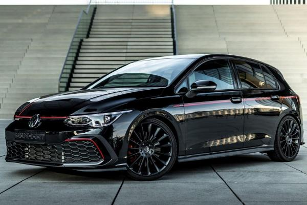 Manhart's Volkswagen Golf GTI Is Trying To Be A Rolls-Royce