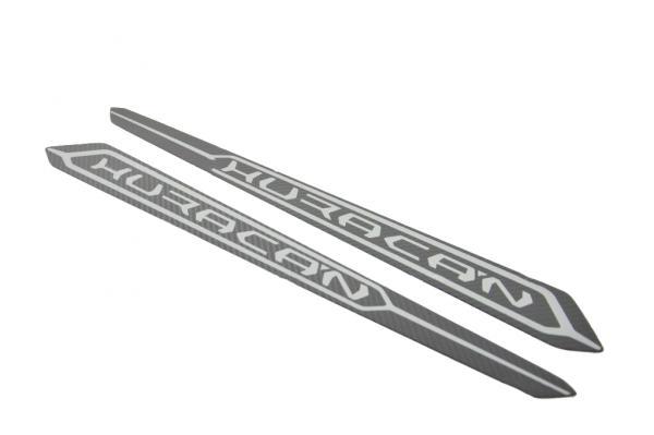 Lamborghini Huracan LP580 LP610 Carbon kickplate side sill panel cover silver