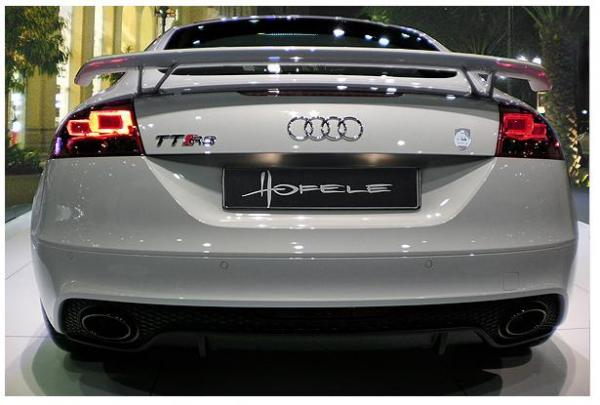 Audi TT to Audi TT RS upgrade