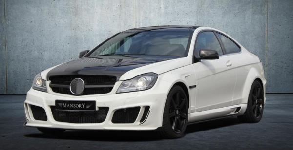 MANSORY Mercedes C-Class Coupe Facelift
