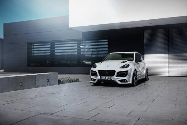 720hp Techart Magnum Sport Edition based on Porsche Cayenne