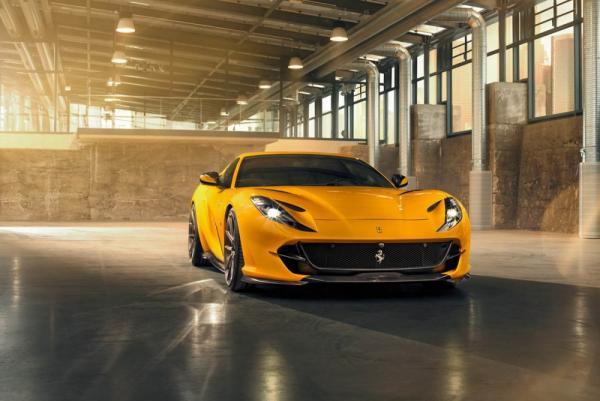 Novitec Works Their Magic on the New Ferrari 812 Superfast!