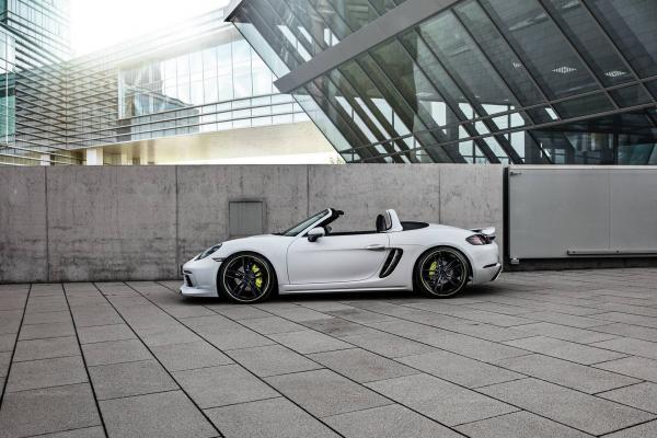 Techart Porsche 718 Cayman and Boxster Gets 400hp