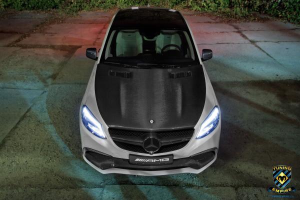 Mercedes GLE 63 AMG - Carbon fiber parts  - now available !