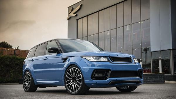 Hop in the new Project Kahn Range Rover Sport Dynamic Pace Car!