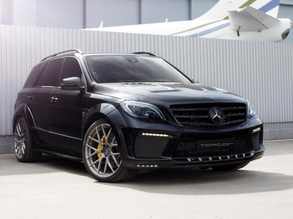 TOPCAR Mercedes ML 63 AMG W166 INFERNO Widebody kit