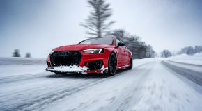 Light Up the Winter With the ABT Sportsline Audi RS4+