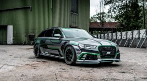 Step into the Future with the 1,018-HP ABT Sportsline Audi RS6-E!