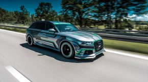 ABT Reveals 1018hp Audi RS6-E Hybrid- First in the World