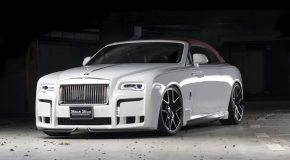 Black Bison Rolls-Royce Dawn by Wald International