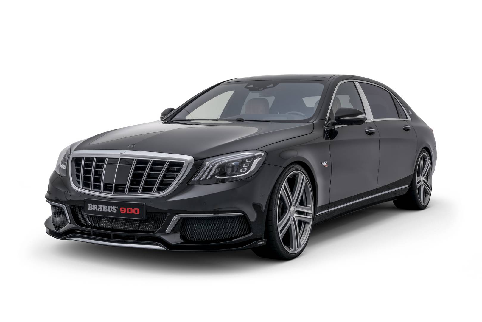 Brabus Rocket 900 Based on Mercedes-Maybach S650