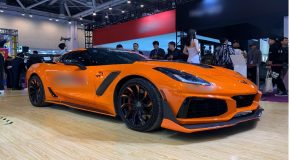 Corvette C7 ZR1 carbon body kit
