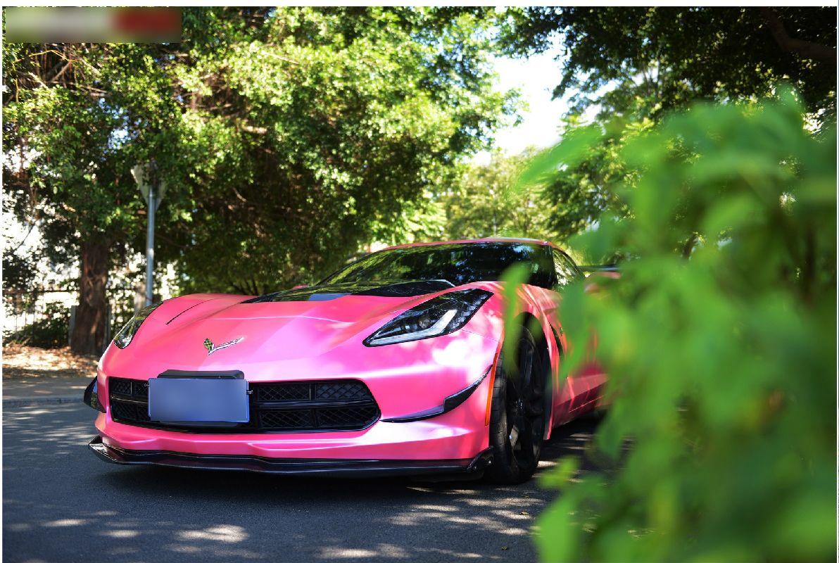 Corvette C7 carbon wide body kit