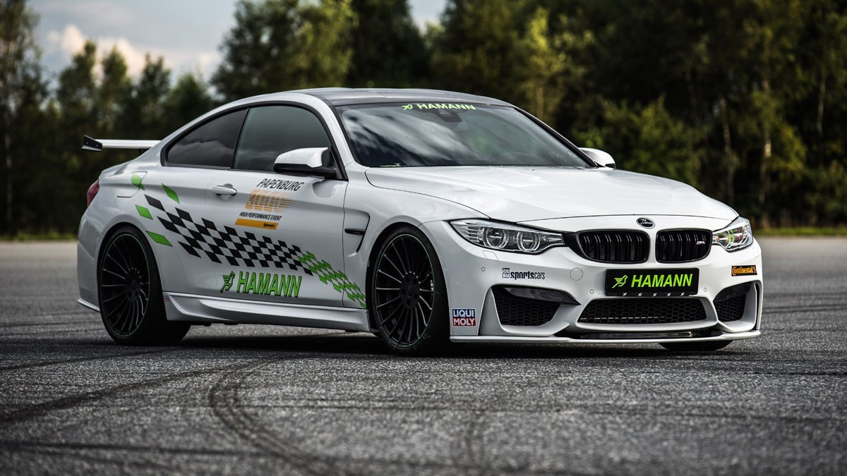 Hamann Motorsport Builds the Fastest BMW M4 at Papenburg