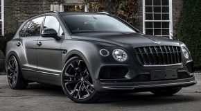 The Kahn Bentley Bentayga Centenary Edition is a Mean Black Machine