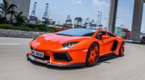 Lamborghini Aventador Molto Veloce - Aggressive carbon Body kit