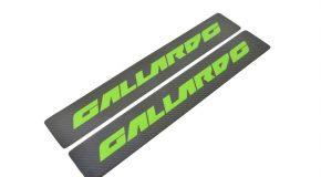 Lamborghini Gallardo LP500 LP560 Carbon kickplate side sill member panel green tag