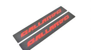 Lamborghini Gallardo LP500 LP560 Carbon kickplate side sill member panel red tag