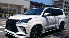 LEXUS LX 570 Carbon Fiber BODY KIT for 2015-2017 and new facelift 2018