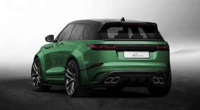 Lumma Design Range Rover Velar CLR GT