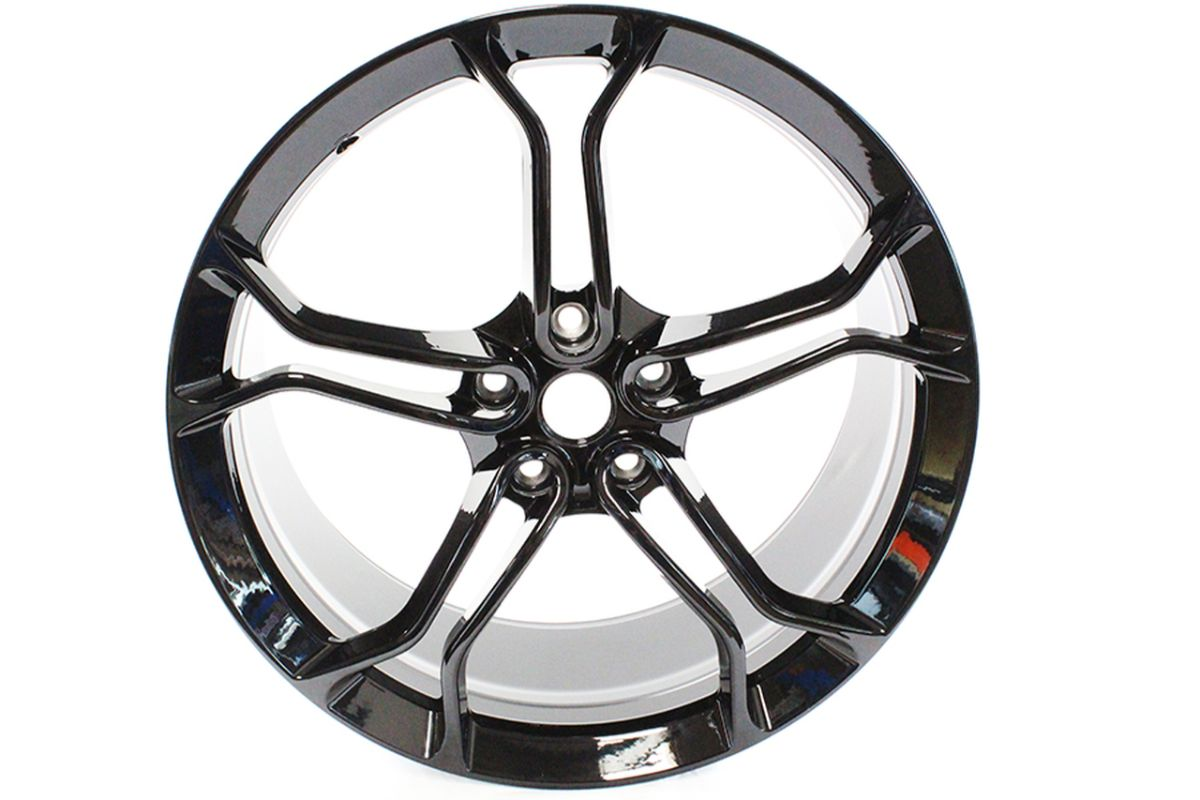 MCLAREN LIGHT WEIGHT 1 STEALTH ALLOY WHEELS ONLY IS MSO BLACK