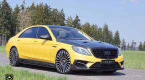 Mansory Reveals Yellow Mercedes-Benz S63 AMG