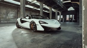 Time to Fly with the 646-HP Novitec McLaren 570S Spider!