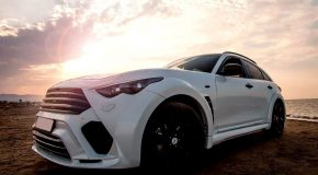 Renegade Infiniti QX70 (FX S51) body kit