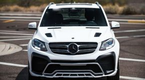 Renegade Mercedes Benz GLE body kit