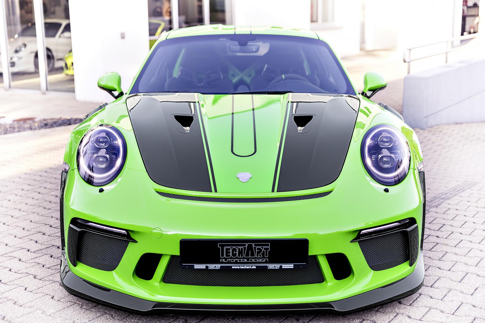 Techart Reveals Carbon Package For Porsche 991.2 GT3 RS