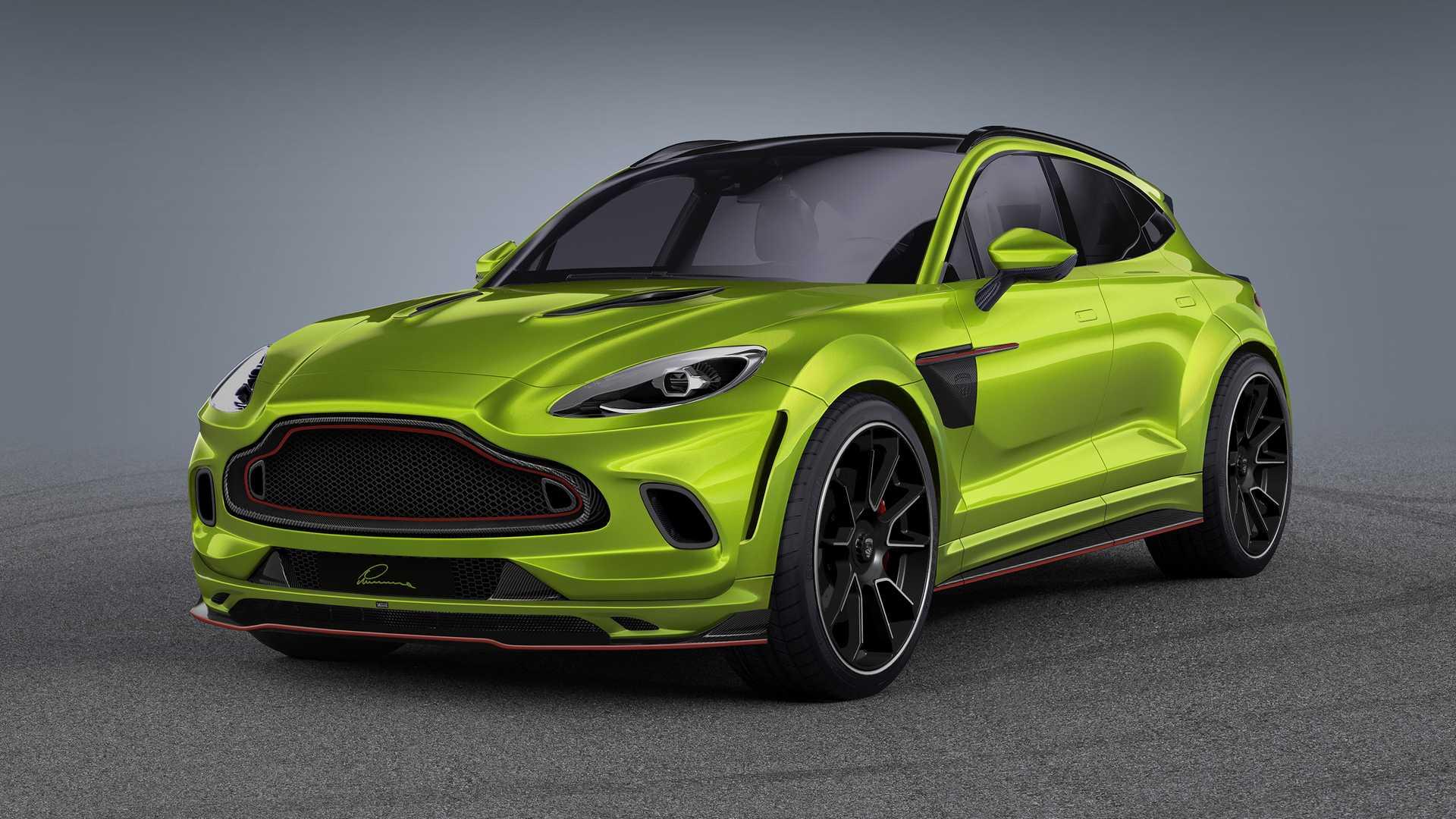 Aston Martin DBX Gets Carbon Fiber Dose By Lumma Design