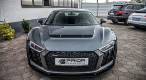 Audi R8 V10 Widebody kit by Prior Design