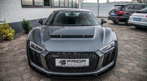 Audi R8 V10 Widebody kit by Prior Design