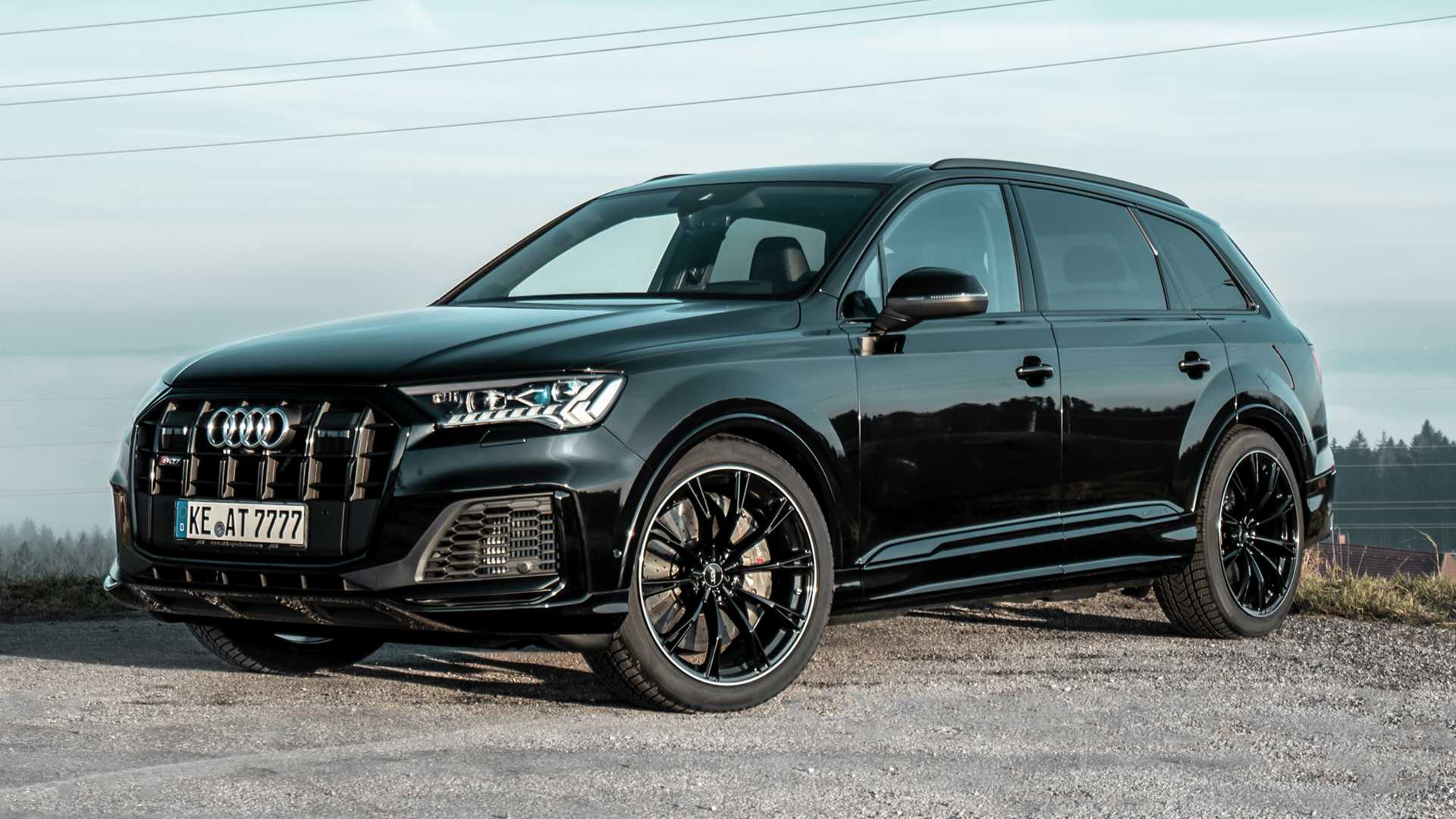 Audi SQ7 Gets More Power, New Wheels From ABT