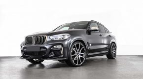 AC Schnitzer BMW X4 Gets More Oomph And Dresses In Black