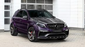 Carbon Mercedes-AMG GLE 63 by Topcar Has Purple Leather Interior