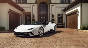 Huracan Performante Spyder Looks The Part With Custom Wheels