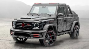 Mansory Makes A Pickup Version Of Star Trooper Mercedes-AMG G63