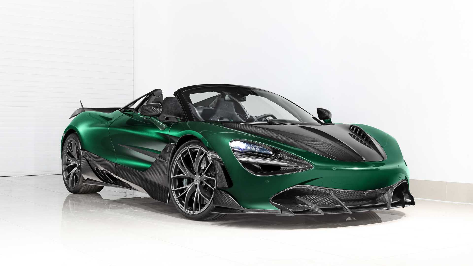 McLaren 720S Spider Fury By TopCar Gets A Dose Of Carbon Fiber