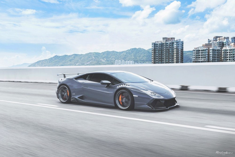 Featured Fitment: Lamborghini Huracan with Brixton Forged CM5 Wheels