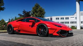Prior Design Huracan With Widebody Kit Has Come from the Future