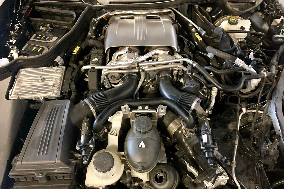 MERCEDES AMG GTS 4,0 510PS 5000km Gearbox Transmission