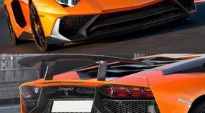 Lamborghini Aventador LP750 SV Conversion Kit LP700 / LP720 LP750-4 SV Body kit