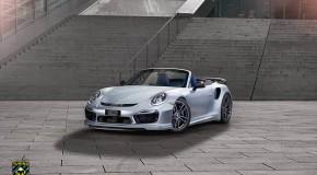 Stunning TechArt Porsche 911 Turbo S Cabriolet!