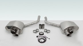 TECHART Exhaust System for Porsche Panamera models (MY14)