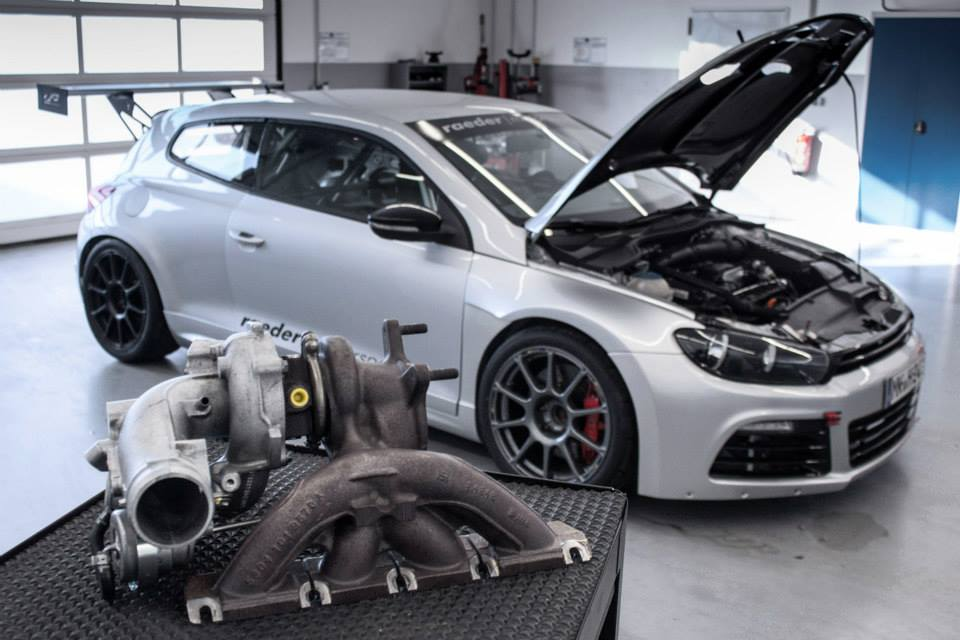 "K04 ""Hybrid"" turbo for  VAG 2.0 TFSI engines"