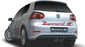 VW Golf R32 MK V Supersprint cat back exhaust  – Another happy customer